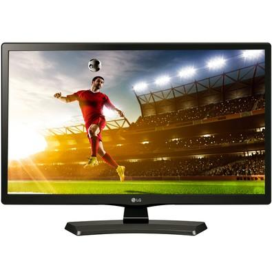 TV Monitor LG 19,5´ LED HD Conversor Digital USB HDMI - 20MT48DF