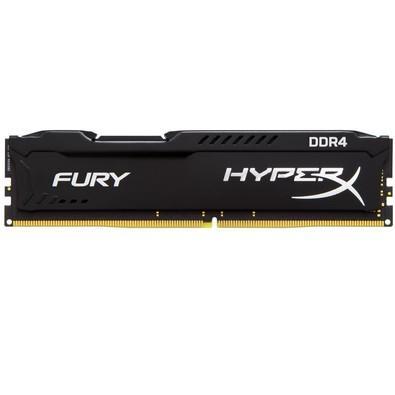 Memória Kingston HyperX FURY 16GB 2400MHZ DDR4 CL15 Preto - HX424C15FB/16