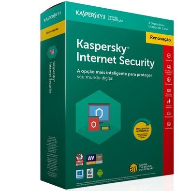 Kaspersky Internet Security 2018 Multidispositivos 3 PCs - Renovação