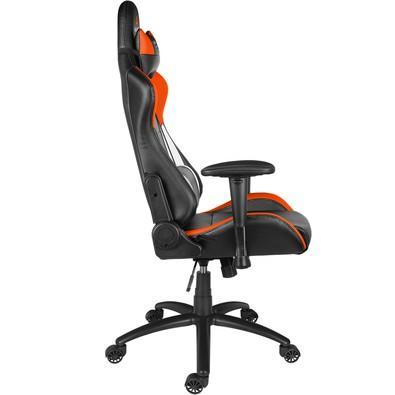 Cadeira Gamer Alpha Gamer Orion V2 Black/White/Orange