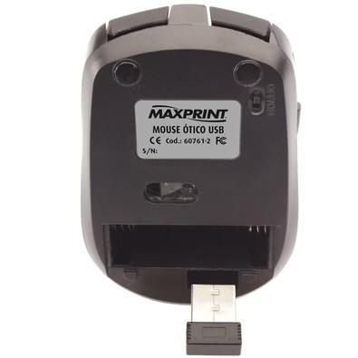 Mouse Óptico Maxprint s/Fio USB 60 7612
