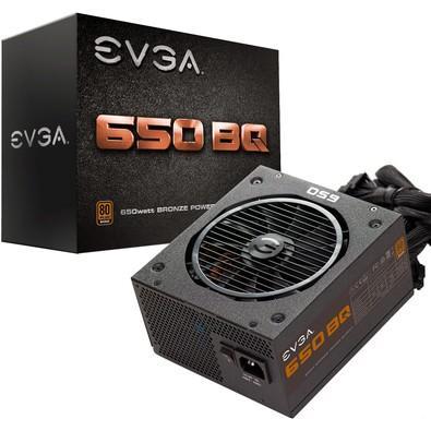 Fonte EVGA 650W 80 Plus Bronze Semi Modular 110-BQ-0650-V