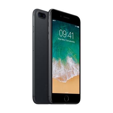 iPhone 7 Plus Preto Matte, 32GB - MNQM2