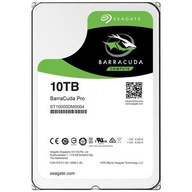 HD Seagate BarraCuda Pro, 10TB, 3.5´, SATA - ST10000DM0004