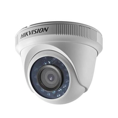 Câmera Hd Hikvision Tvi Dome 2,8mm 20mt 1080p Plástica Branca DS-2CE56D0T-IRPF