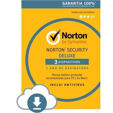Norton Security 3 Dispositivos 12 Meses - Digital para download