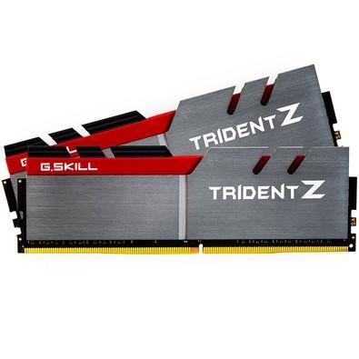 Memória Ram Trident Z 8gb Ddr4 3200mhz F4-3200c16d-16gtzb G.skill