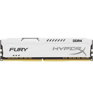 Memória Kingston HyperX FURY 16GB 2666Mhz DDR4 CL16 White - HX426C16FW/16