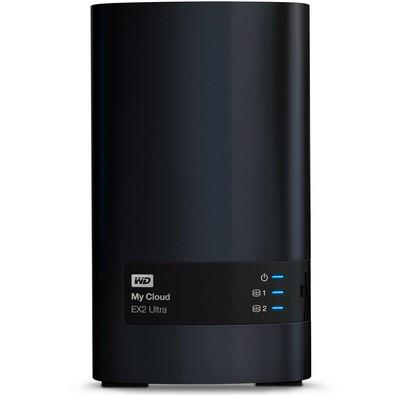 Storage WD NAS My Cloud Expert Series EX2 Ultra 2-Bay Sem Disco - WDBVBZ0000NCH-NESN