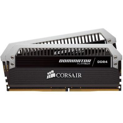 Memória Corsair Dominator Platinum 16GB (2x8GB) 3200Mhz DDR4 CL16 - CMD16GX4M2B3200C16
