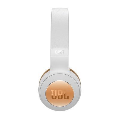 Headphone Bluetooth JBL Duet Branco e Dourado