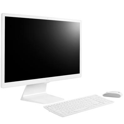 All in One LG Intel Core i5-7200U, 4GB, 1TB, 23.8´, TV Digital, Windows 10, Branco - 24V570-C.BJ31P1