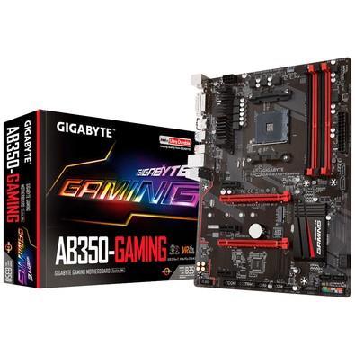 Placa-Mãe Gigabyte GA-AB350-Gaming, AMD AM4, ATX, DDR4