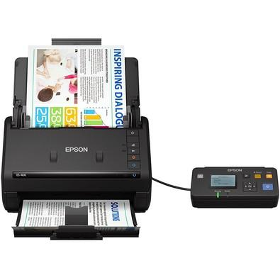 Scanner de Mesa Epson Color, Duplex 35 ppm - ES-400