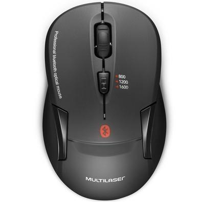 Mouse Multilaser 1600DPI Bluetooth - MO254