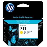 Cartucho de Tinta HP Designjet 711, Amarelo - CZ132AB