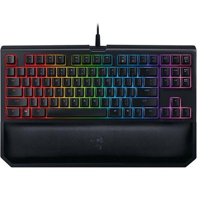 Teclado Mecânico Gamer Razer Blackwidow Tournament V2 Chroma, Switch Razer Green, US - RZ03-02190200-R3U1