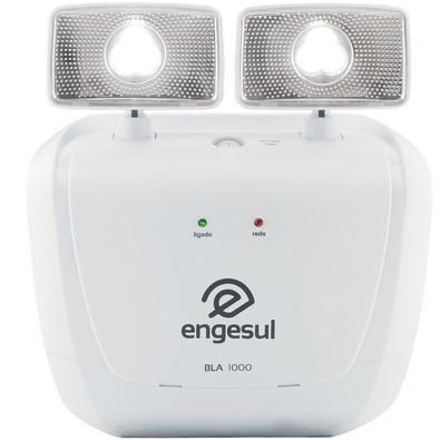 Iluminação de Emergência Intelbras Engesul 1000 Lumens 2 Faróis LED BLA 1000 Cinza Ártico 4635100
