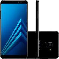 Smartphone Samsung Galaxy A8+ 64GB, 16MP, Tela 6´, Preto - SM-A730F
