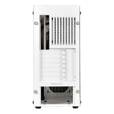 Gabinete EVGA DG-77 Alpine White Vidro Temperado Led RGB K-Boost 176-W1-3542-KR