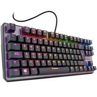 Teclado Mecânico Gamer Nox Krom Switch Outemu Red ,RGB, ABNT2, Kernel TKL - NXKROMKRNLTKLBR