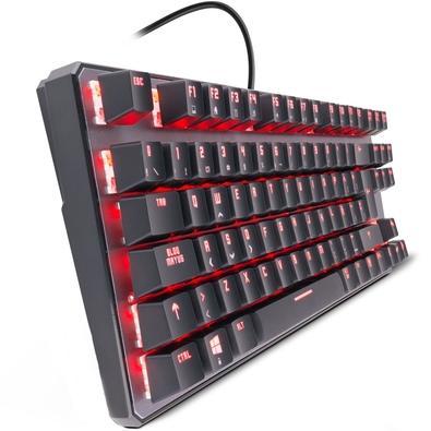 Teclado Mecânico Gamer Nox Krom Kernel, RGB, Switch Outemu Red, ABNT2 - NXKROMKRNLTKLBR