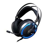 Headset Gamer C3 Tech P2 e USB, Preto RGB Goshawk PH-G300SI