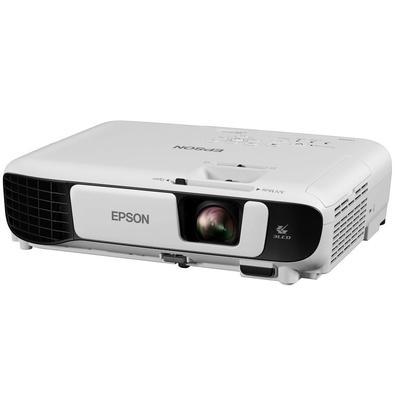 Projetor Epson W42+ 3.600Lumens, WXGA, HDMI, Wi-Fi