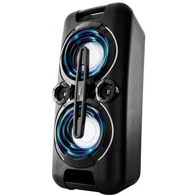 Caixa Acústica Portátil Philco - Bluetooth, MP3, USB, Aux. e FM 150W RMS Bivolt Preto c/ Bateria Interna - PHT5000 056603721