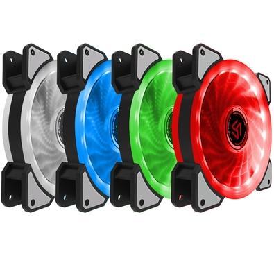 Cooler FAN Alseye D-Ring RGB com 21/32 LEDs - DR-120-R