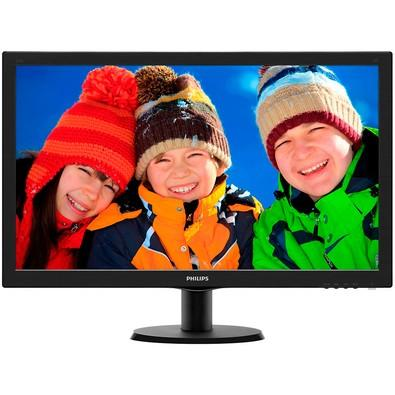 Monitor Philips LED 27´ Widescreen, Full HD, HDMI/VGA/DVI, Som Integrado - 273V5LHAB