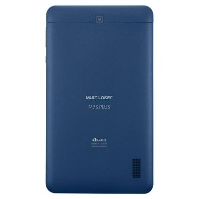 Tablet Multilaser M7S Plus Quad Core 7´ Wi-Fi Bluetooth Android 7.0 Azul - NB274