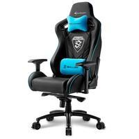 Cadeira Gamer Sharkoon Shark Skiller SGS4 Black Blue