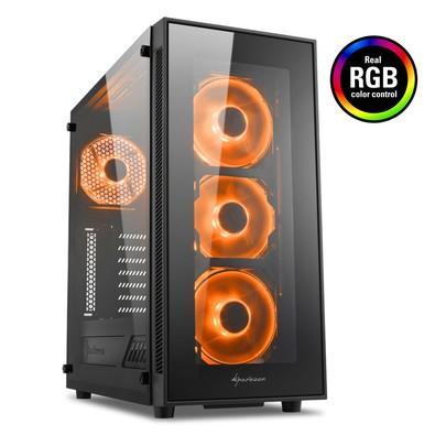Gabinete Sharkoon TG5 RGB ATX