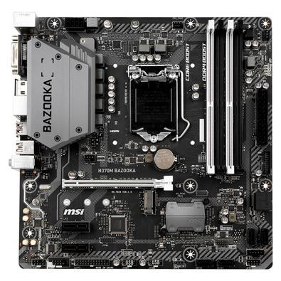 Placa-Mãe MSI H370M Bazooka, Intel LGA 1151, mATX, DDR4