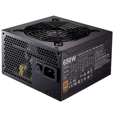 Fonte Cooler Master 650W 80 Plus Bronze MWE - MPX-6501-ACAAB
