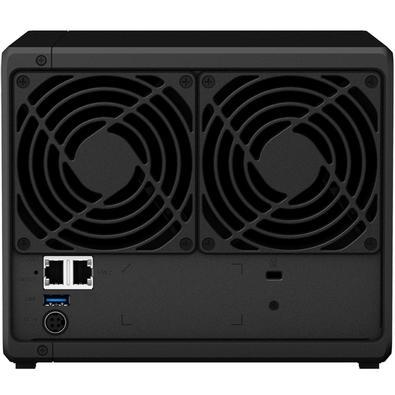 Storage Synology NAS DiskStation Realtek RTD1296 Quad Core 1.4GHz 2GB DDR4 - Torre 4 Baias Sem Disco - DS418