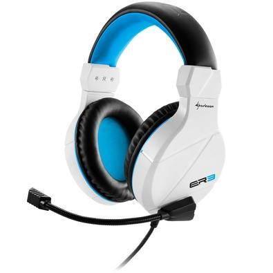 Headset Gamer Sharkoon Branco Rush ER3