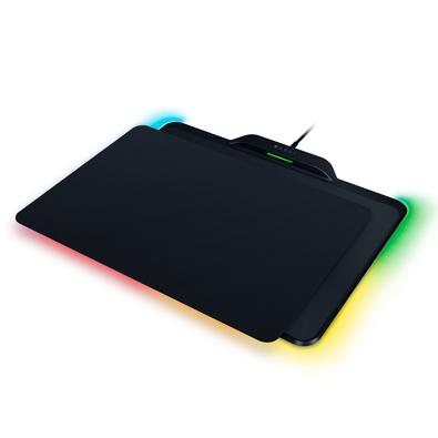 Kit Gamer Razer - Mouse Sem Fio Mamba HyperFlux Chroma + Mousepad Firefly HyperFlux Chroma, Rígido, Control/Speed, Médio