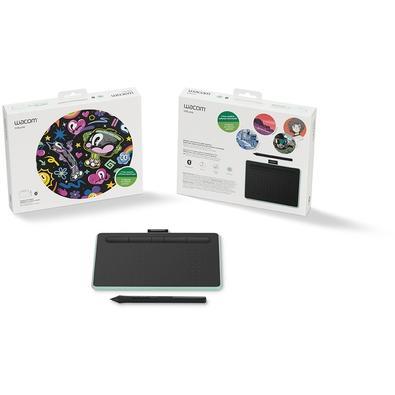 Mesa Digitalizadora Wacom Bluetooth Pequena Intuos Criativa Pistache - CTL4100WLE0