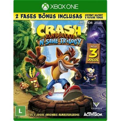 Game Crash Bandicoot N. Sane Trilogy Xbox One