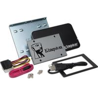 SSD Kingston 2.5´ 120GB UV500 SATA III Leituras: 520MB/s e Gravações: 320MB/s + Kit Upgrade - SUV500B/120G