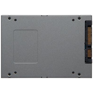 SSD Kingston 2.5´ 120GB UV500 SATA III Leituras: 520MB/s e Gravações: 320MB/s + Kit Upgrade - SUV500B/120G
