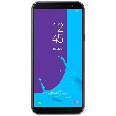 Smartphone Samsung Galaxy J6, 32GB, 13MP, Tela 5.6´, TV Digital, Prata - SM-J600GT
