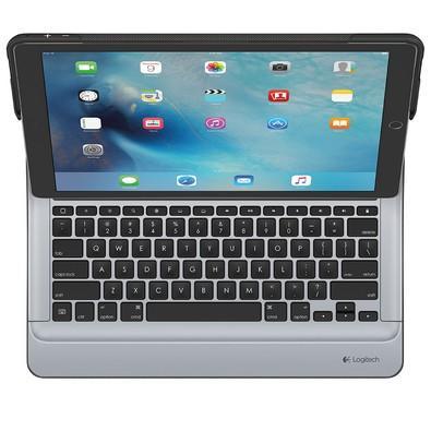 Capa Create Logitech Com Teclado Iluminado Para iPad Pro Preto - 920-007728
