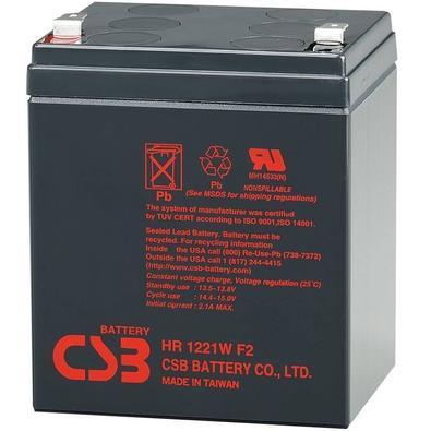 Bateria CSB VRLA 12V 5.1AH - HR1221W