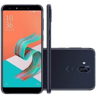 Smartphone Asus Zenfone 5 Selfie, 64GB, 20MP, Tela 6´, Preto - ZC600KL-5A109BR