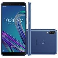 Smartphone Asus Zenfone Max Pro M1, 32GB, 13MP, Tela 6´, Azul - ZB602KL-4D112BR