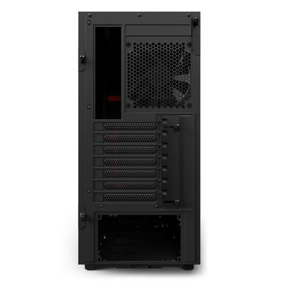 Gabinete NZXT H500 Vermelho CA-H500B-BR
