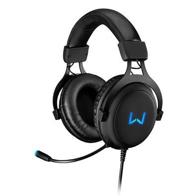 Headset Gamer Warrior Volker 7.1 Surrond USB com Led Azul - PH258